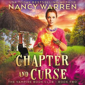 Chapter and Curse Audio Book Cover