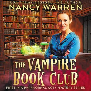 The Vampire Book Club audio book cover